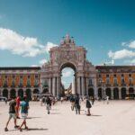 Comercio Square, Lisbon walking through this ancient quarter ,