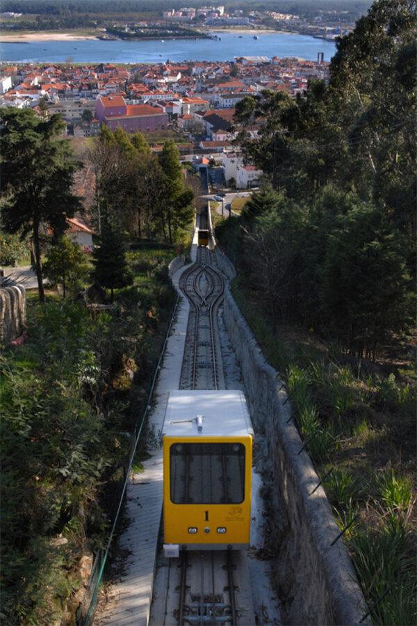 Viana do Castelo Funicular Train Portugal