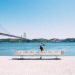 Tejo River Lisboa Portugal