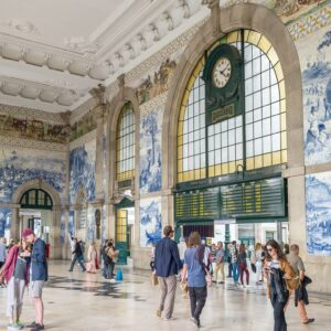 São Bento Train Station Porto Portugal