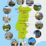Tour Holidays Map Portugal